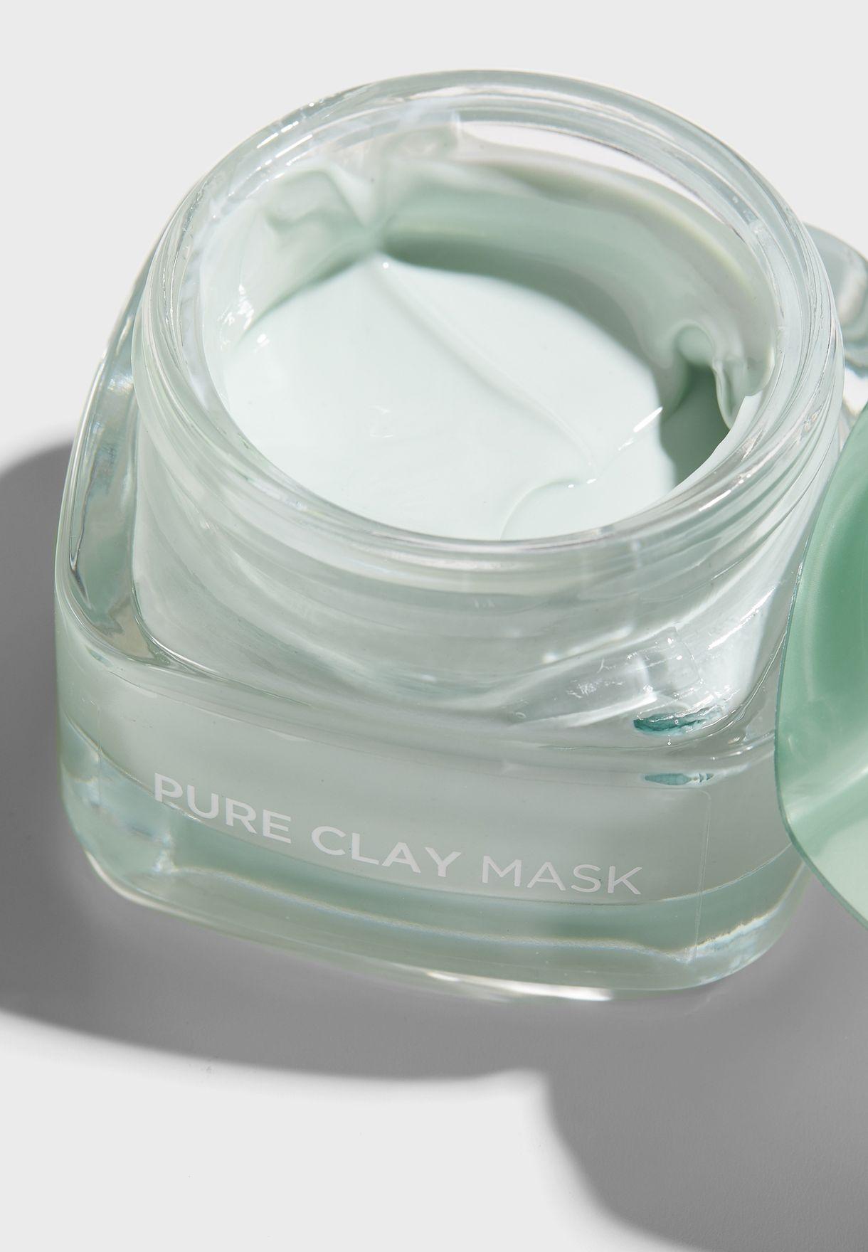 Pure Clay Euclayptus Mask + Cleanser Set worth 66 AED/SAR