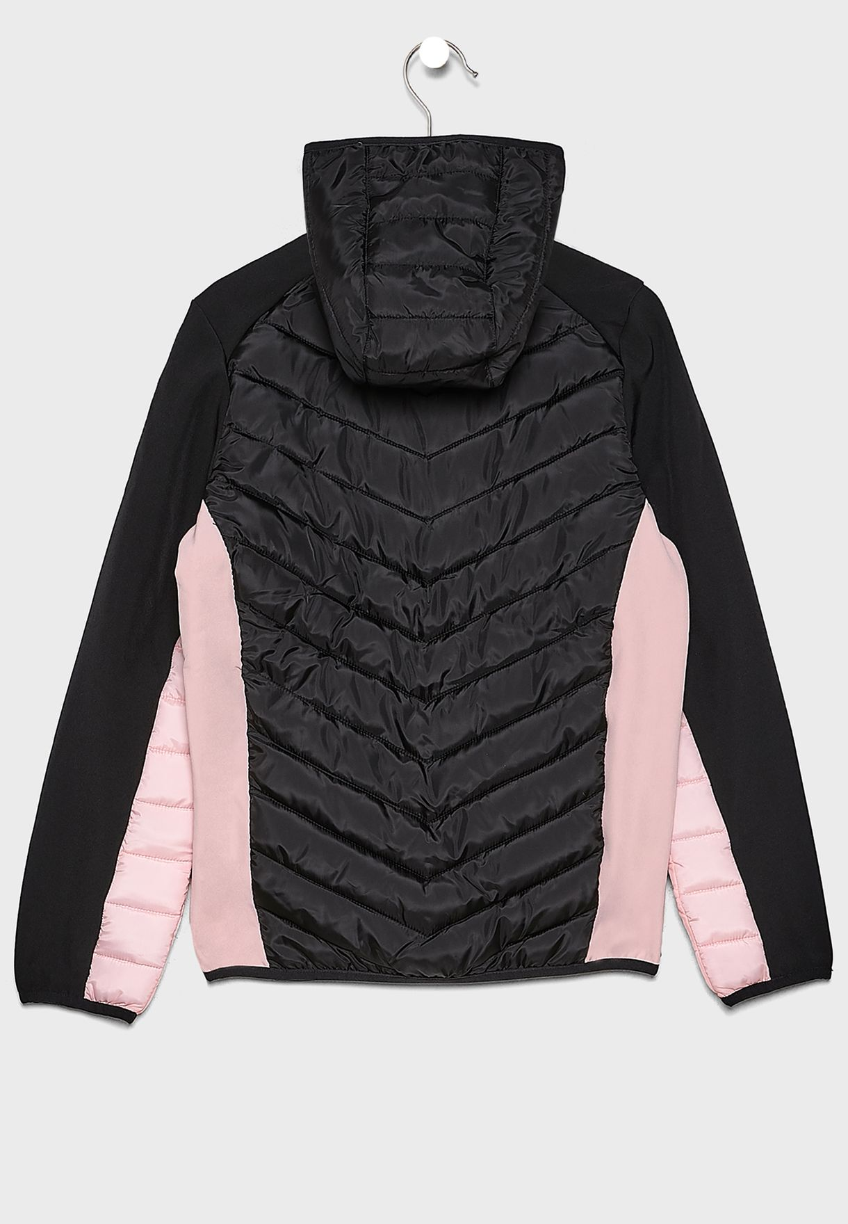 Youth Lilona Quilted Hooded Jacket