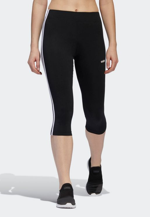 Essential 3 Stripe 3/4 Leggings