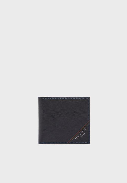 Stitch Detail Bifold Wallet