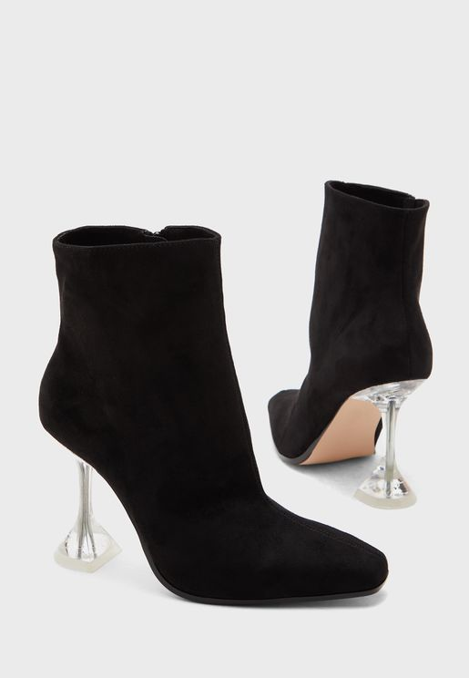 Courtney Ankle Boot - Black