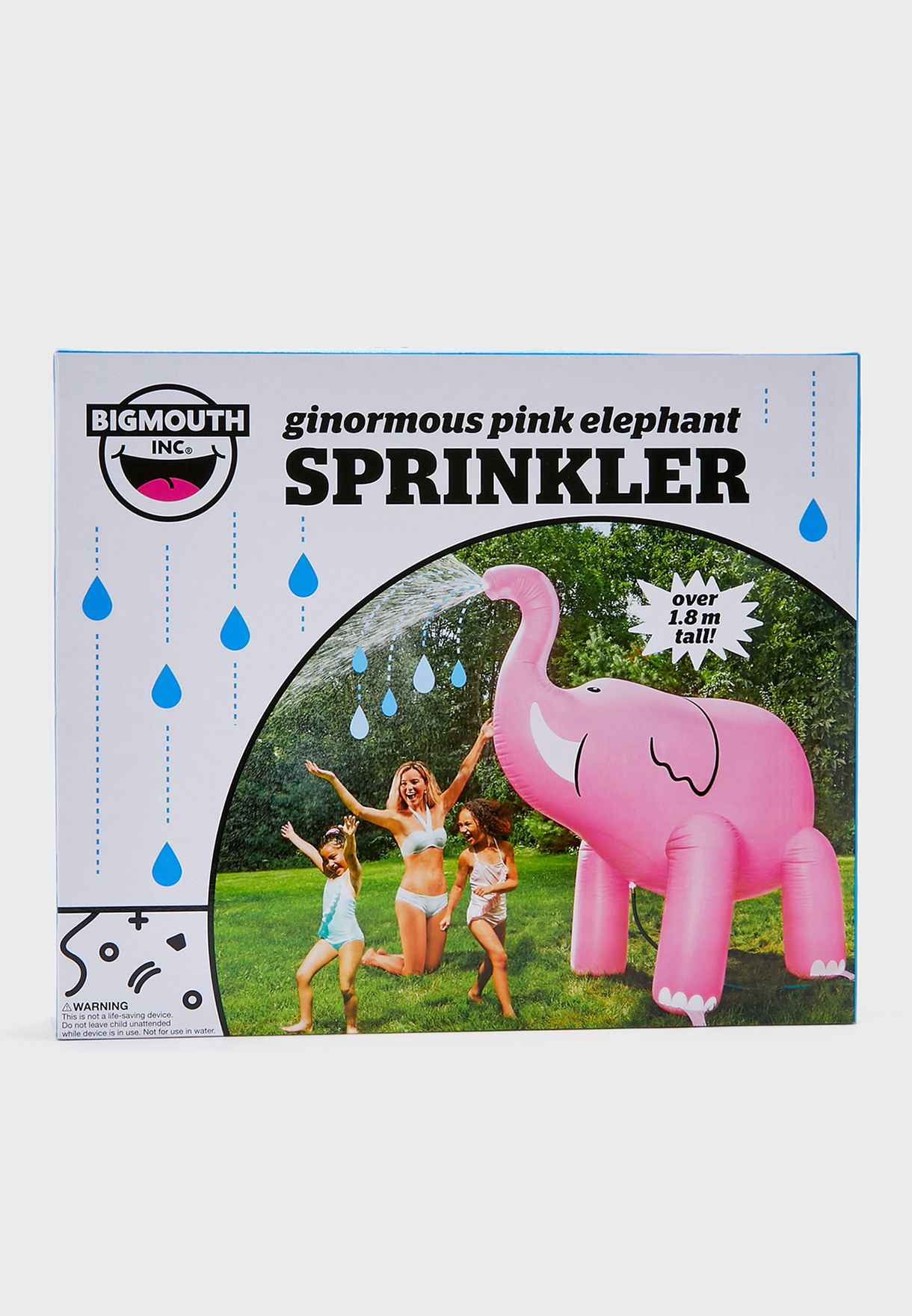 Giant Inflateable Elephant Yard Sprinkler 6ft