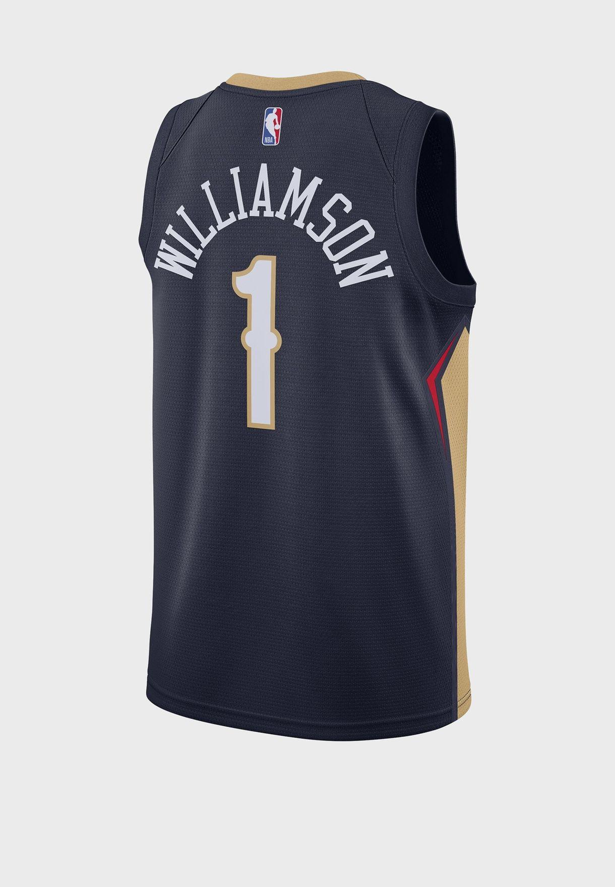Zion Williamson New Orleans Pelicans Swingman Jersey