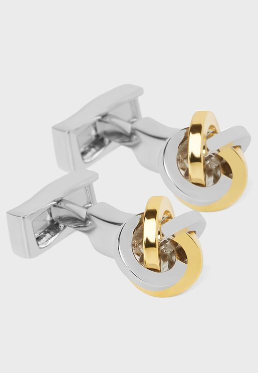 Multi Knot Cuff Links