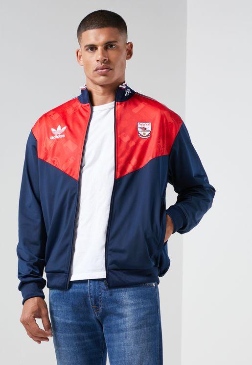 Arsenal Trefoil Track Jacket