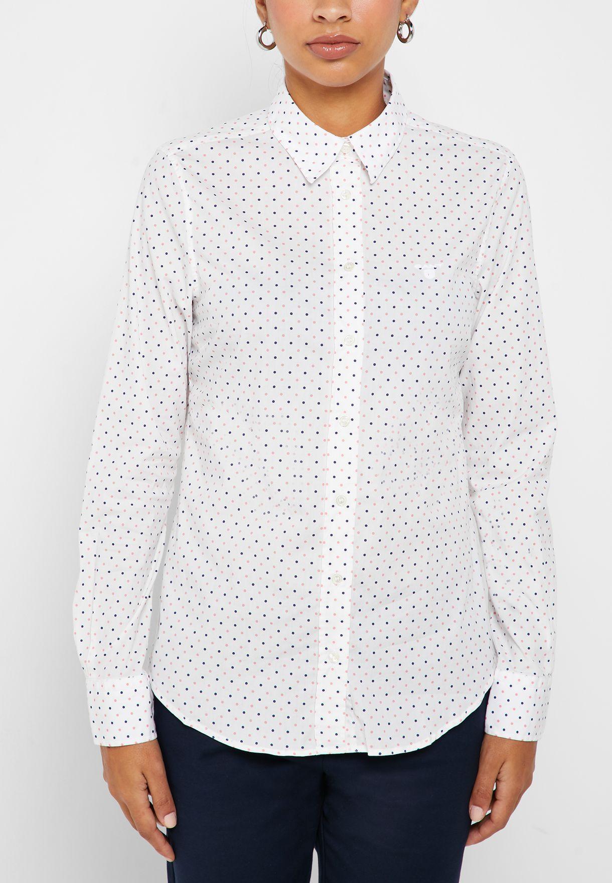 قميص منقط