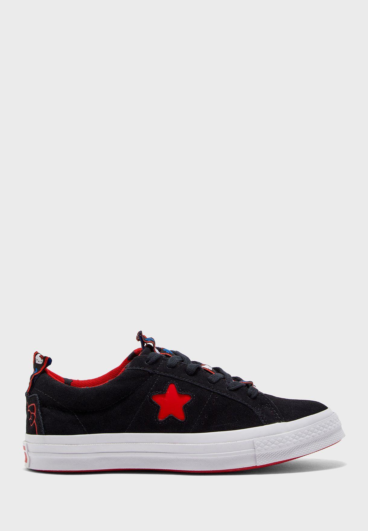 حذاء هالو كيتي ون ستار او اكس