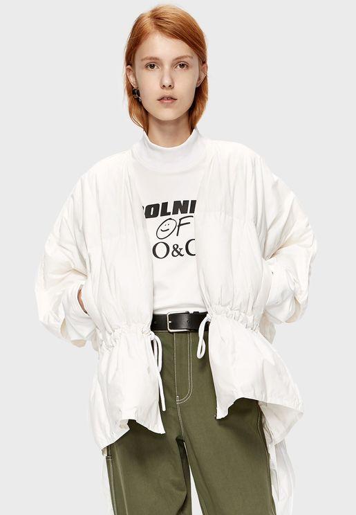 Slogan Knitted Sweatshirt