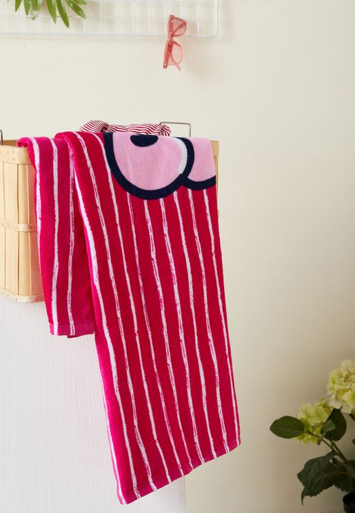 Kids Striped Bath Towel