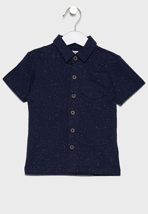 قميص بازرار امامية للبيبي