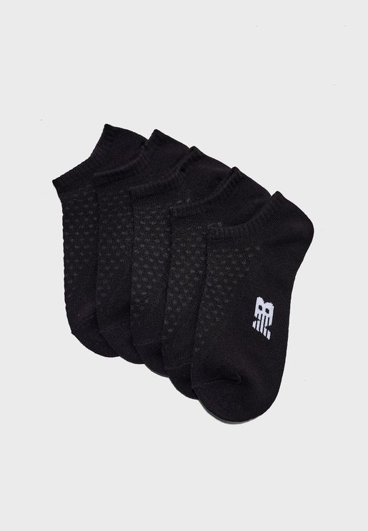 5 Pack No Show Socks