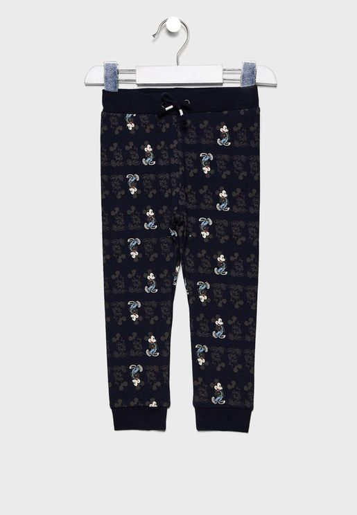 Kids Mickey Printed Trouser