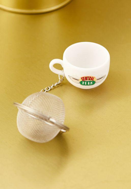مصفاة الشاي بطبعة كتابة