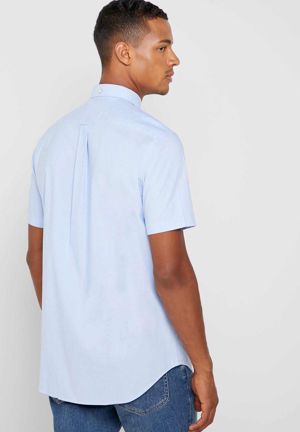 قميص كلاسيكي من القطن الخالص