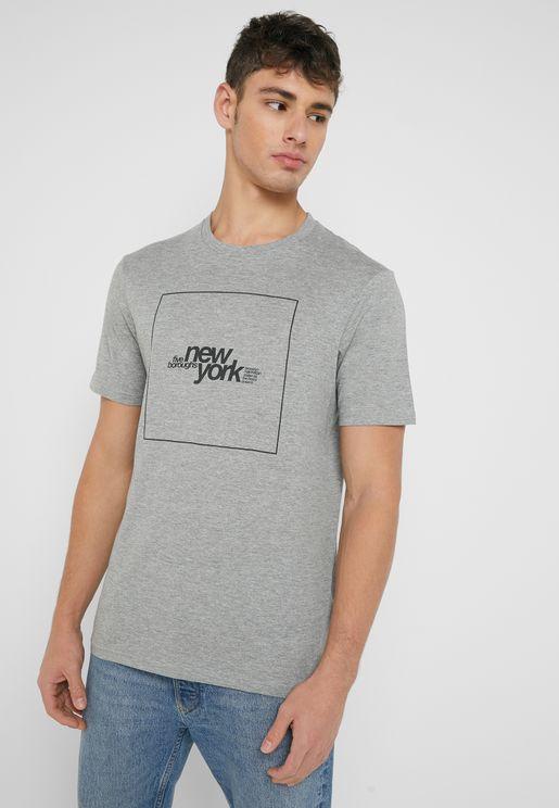 Five  Boroughs Urban  Crew Neck T-Shirt