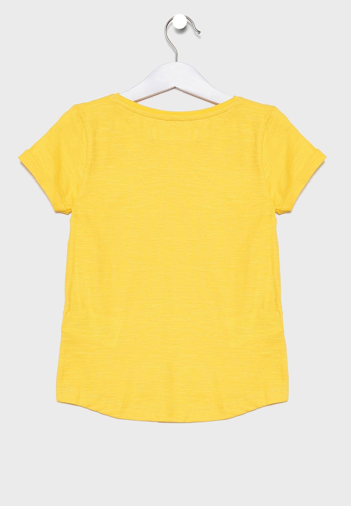 Little Roll Sleeve T-Shirt