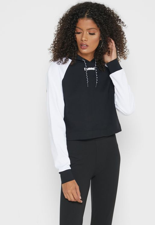 Chill Cropped Hoodie