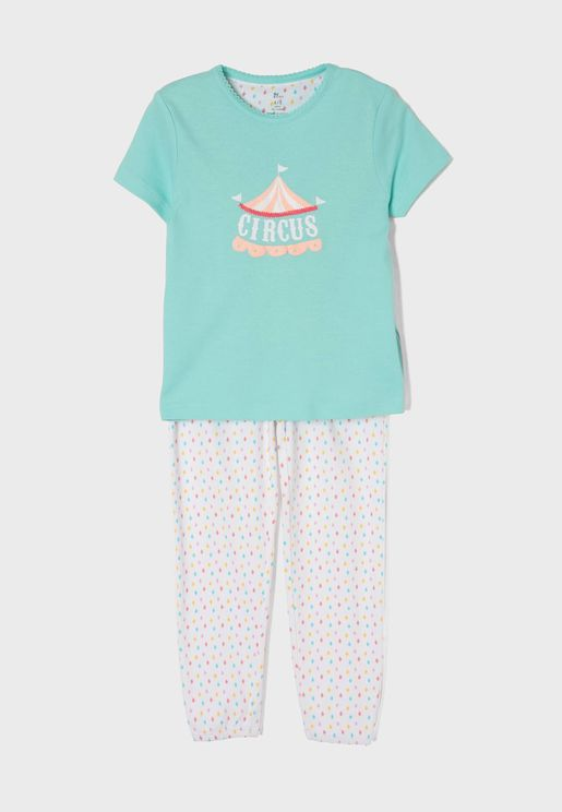 Kids Circus Pyjama Set