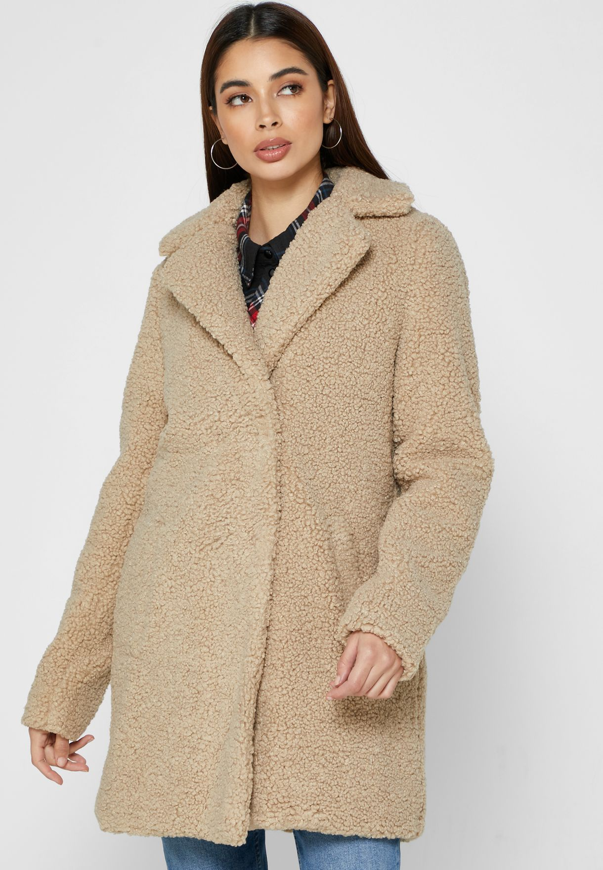 Single Breasted Longline Coat
