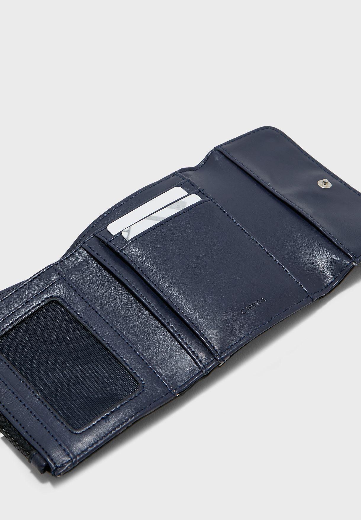 Trifold Multi Pocket Purse