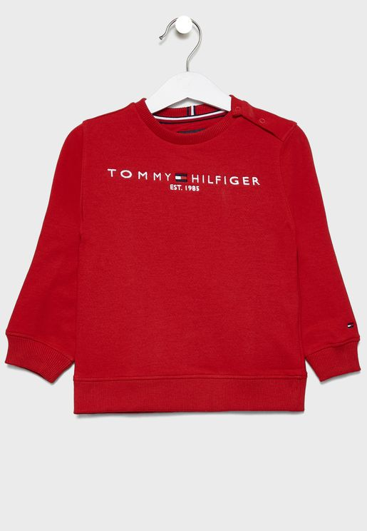 Kids Essential Logo Sweatshirt