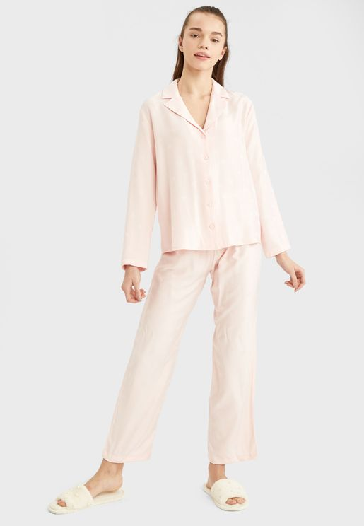 Wide Leg Pyjama Pant