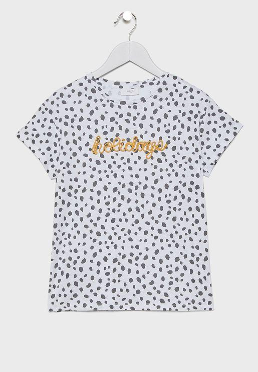 Kids Leopard T-Shirt