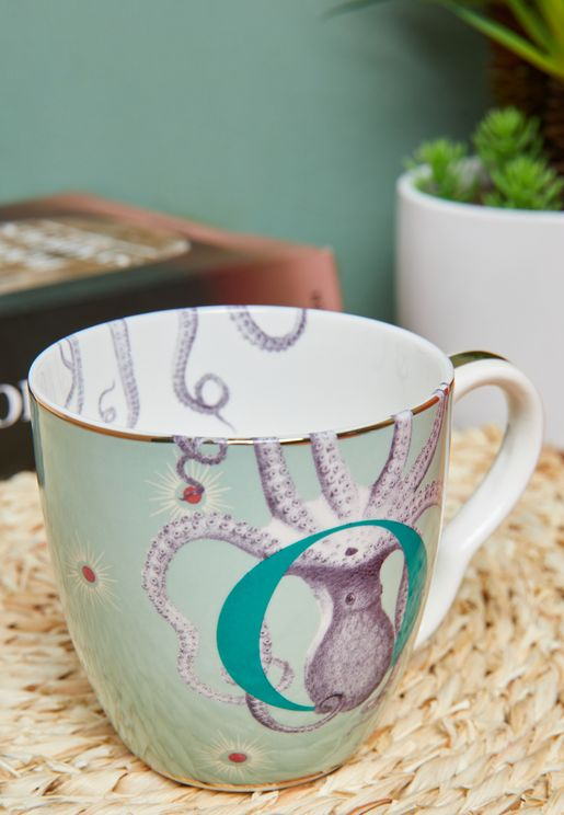 Alphabet Mug - Octopuss