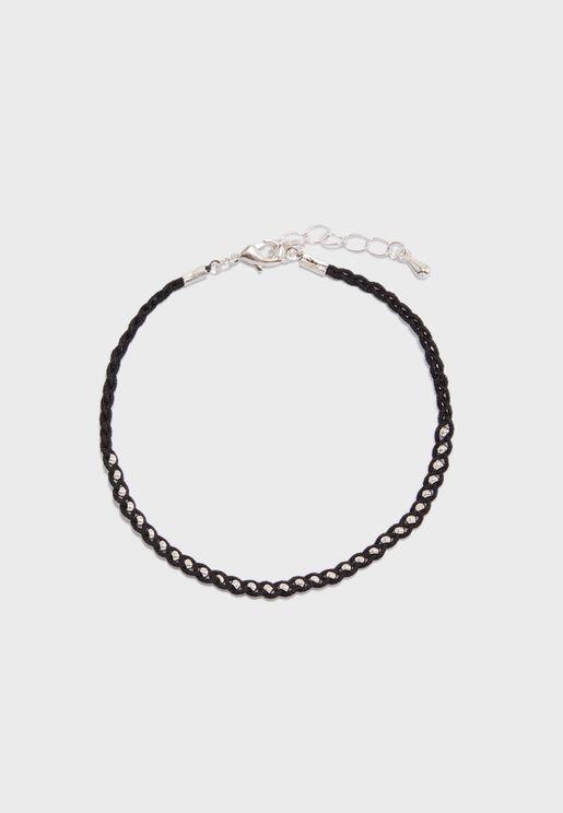 String Beaded Bracelet