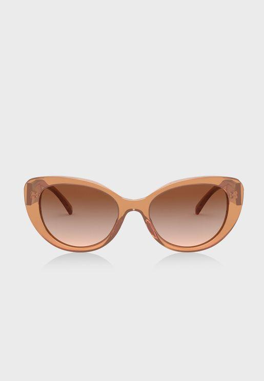 نظارة شمسية بشكل عين القطة