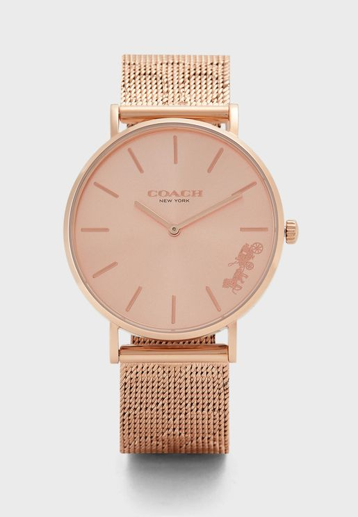 Perry Two Tone Analog Watch