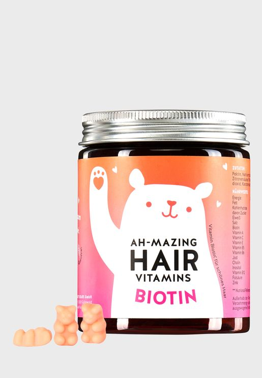 Ah-Mazing Hair Vitamins Biotin