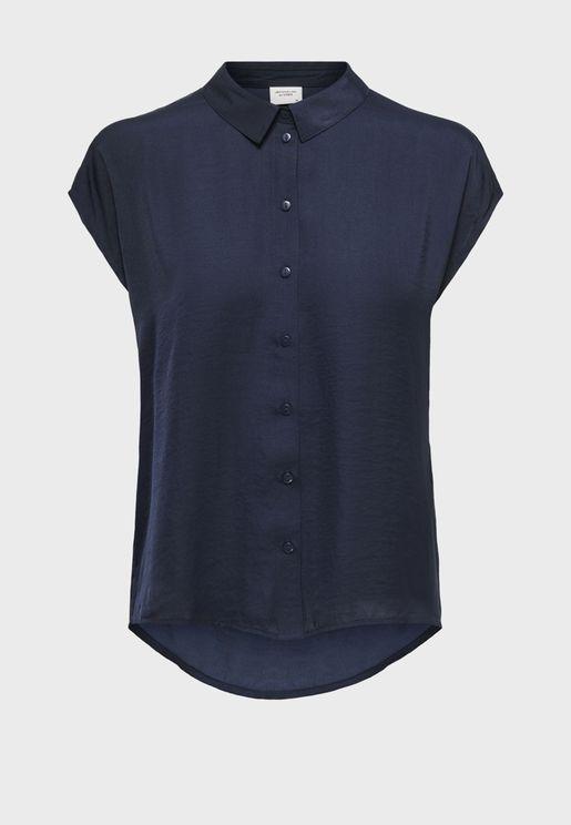 قميص باكمام كاب