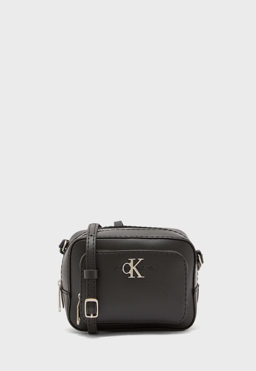 Logo Top Zip Camera Bag