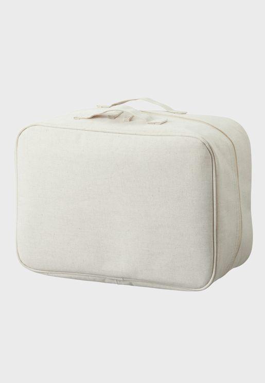 Cotton Linen Polyester Soft Box Small