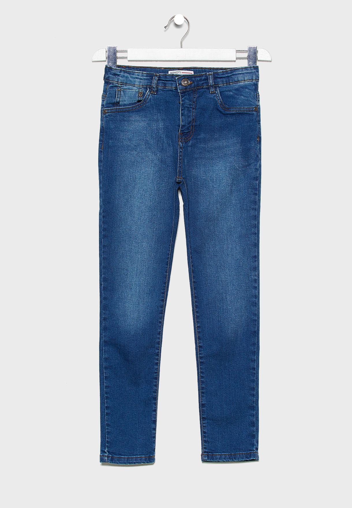 Teen Dark Wash Regular Jeans