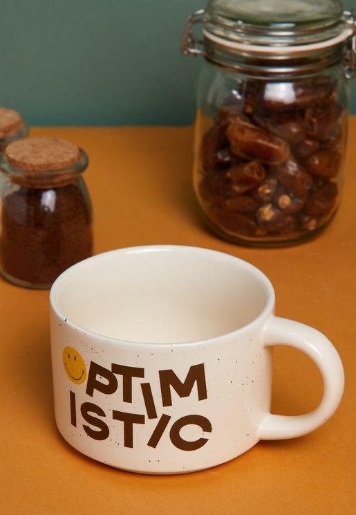Smiley Optimistic Mug