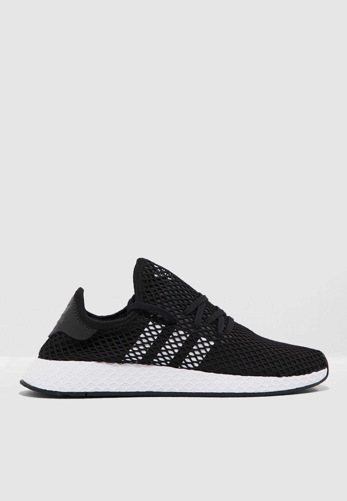 f86a574493e7 Shop adidas Originals black Deerupt Runner BD7890 for Men in UAE ...