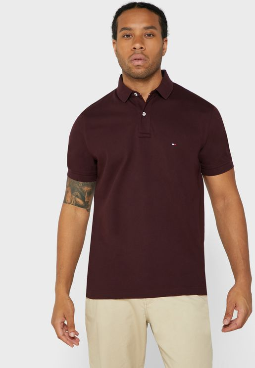 Chest Logo Regular Fit Polo