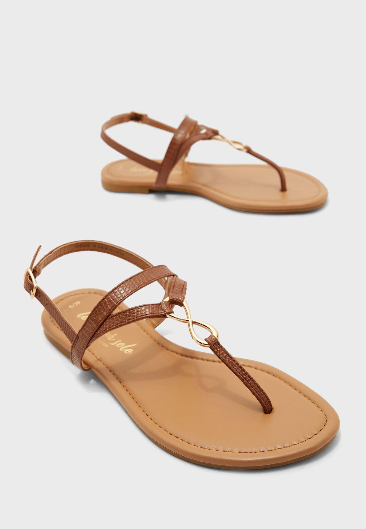 Hooper 1 Flat Sandal