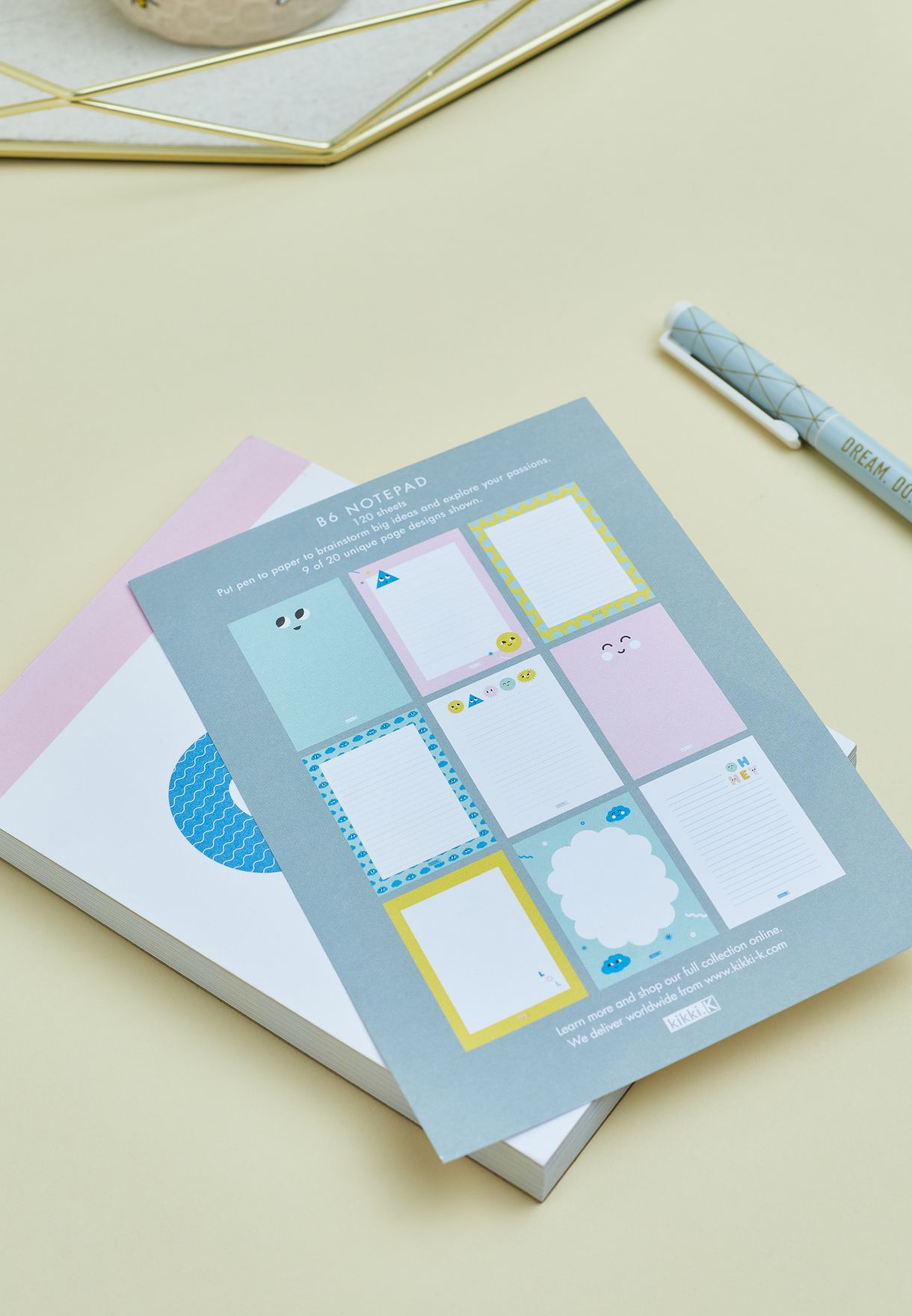 B6 Feature Notepad