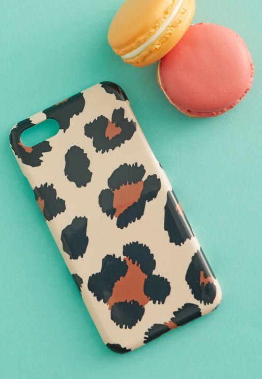 Leopard Print iPhone 6/7/8 Case