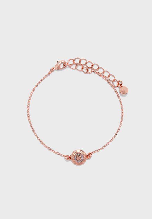 Eisa Enamel Mini Button Bracelet