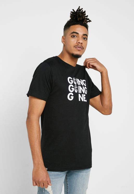Stockholm Going Gone Crew Neck T-Shirt
