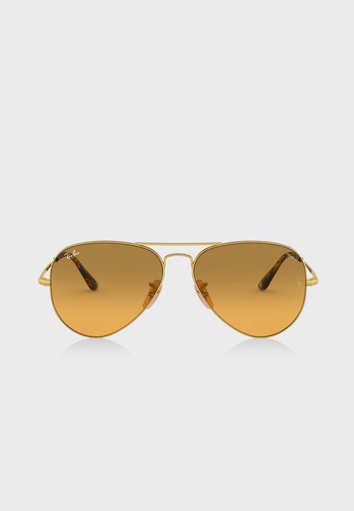 69698d0794 0RB3576N Round Flat Lenses Sunglasses