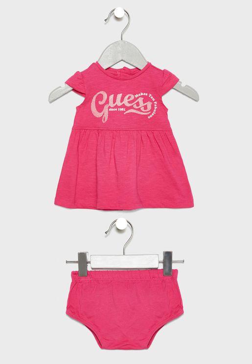 Infant Logo Dress