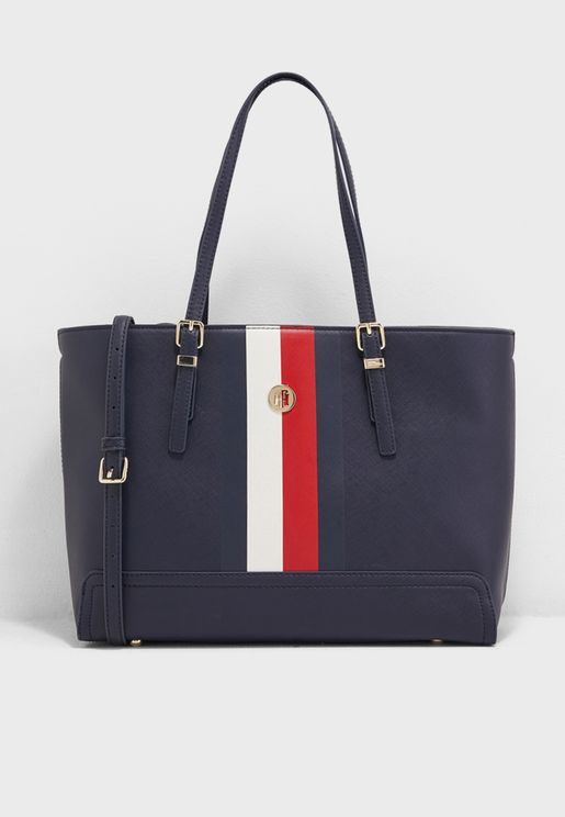 bf63b4b1604 Medium Honey Tote. PREMIUM. Tommy Hilfiger. Medium Honey Tote