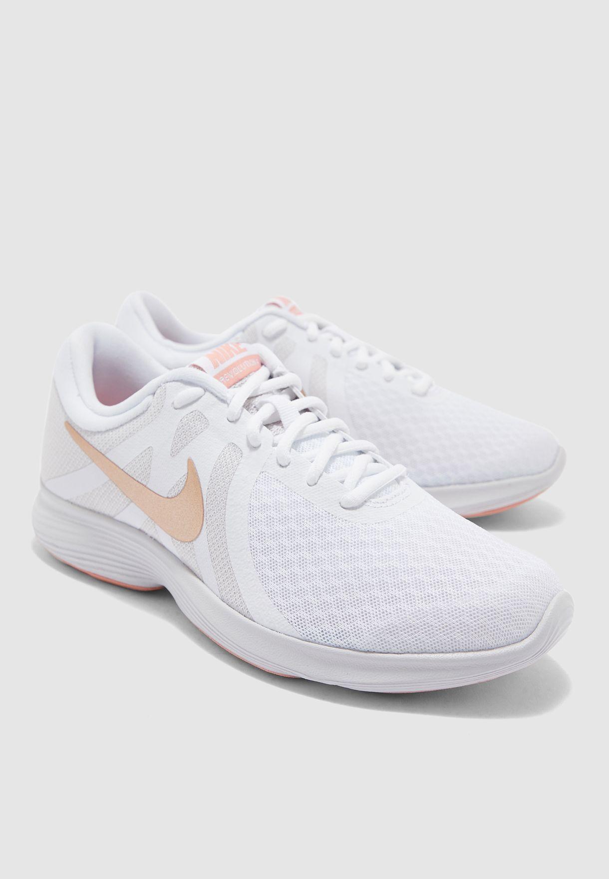 Milagroso Alcanzar Mimar  Buy Nike grey Revolution 4 EU for Women in MENA, Worldwide | AJ3491-102