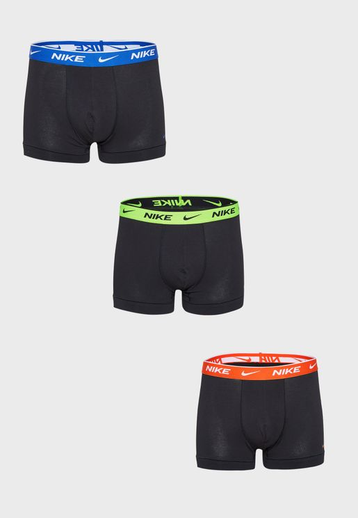 3 Pack Logo Trunk