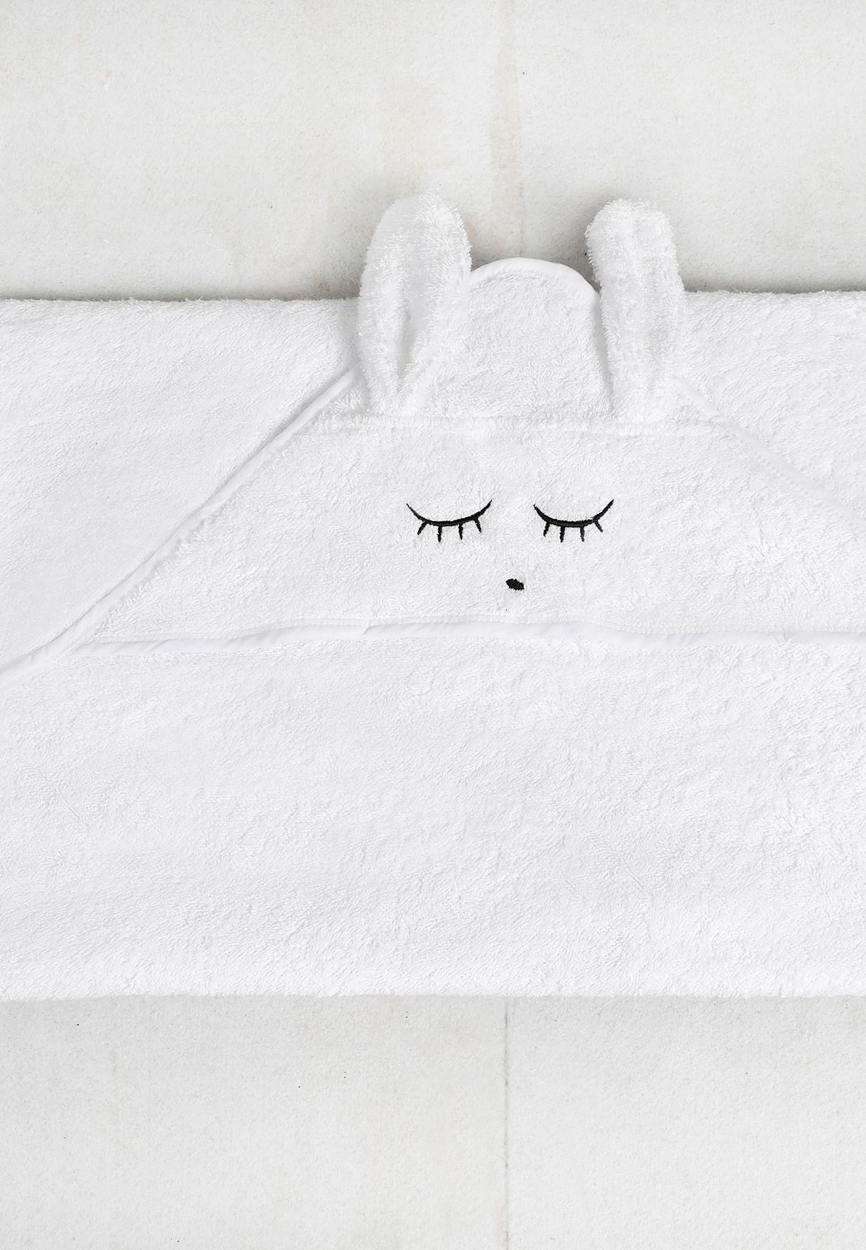 منشفة بياقة هودي للاطفال
